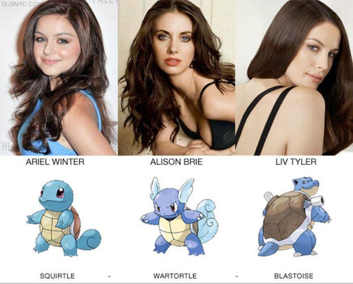 Celebrities as Pokemon Characters (20 pics)