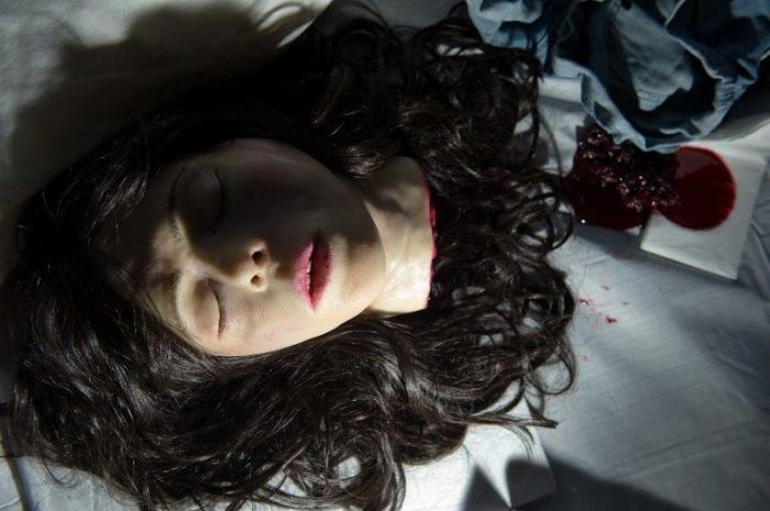 Horror Movie Edible Installation (13 pics)