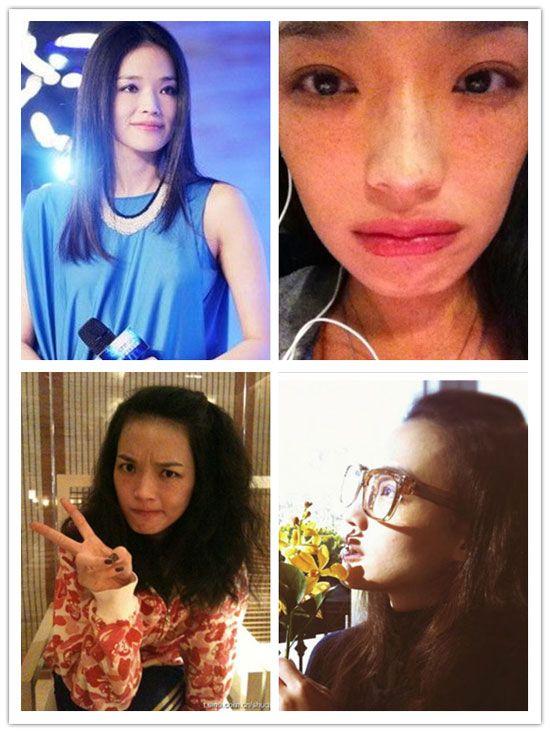 Hong Kong and Chinese Actresses Without Makeup (16 pics)