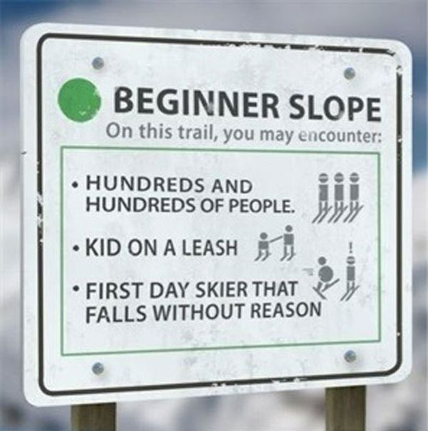 Ski Slope Skill Levels (4 pics)