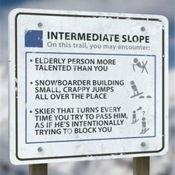 Ski Slope Skill Levels (4 pics)