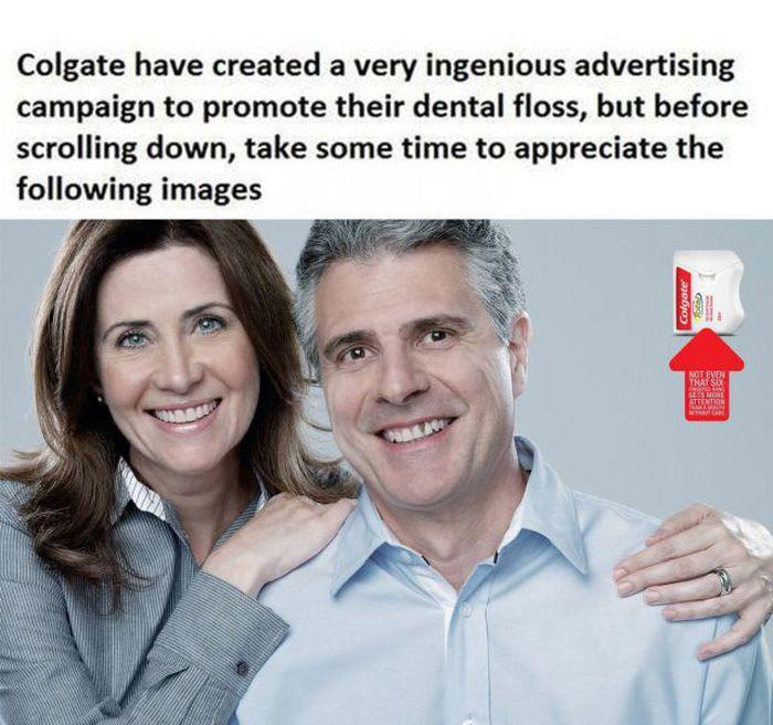 Brilliant Colgate Advertising Campaign (4 pics)