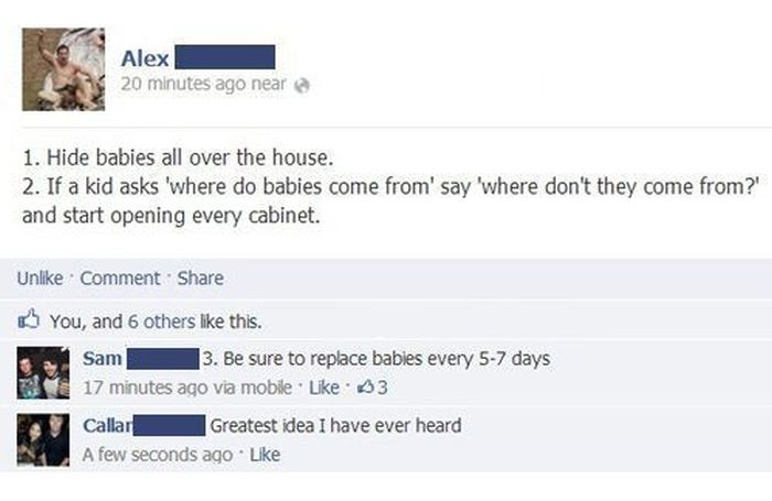 Facebook Fails and Wins (24 pics)