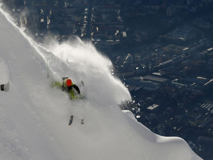 Freeride Skiing Photos (24 pics)