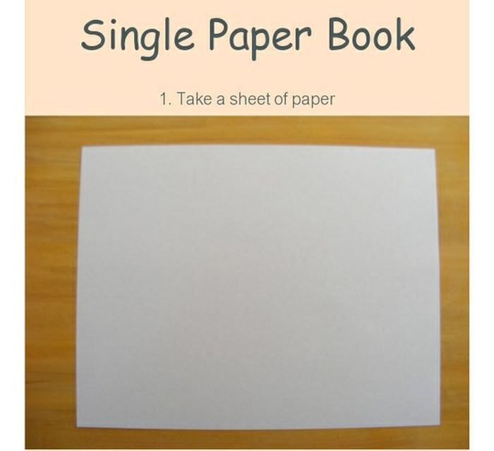 Single Paper Book (11 pics)
