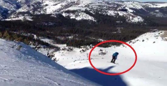 Amazing Ski Jump Gone Wrong