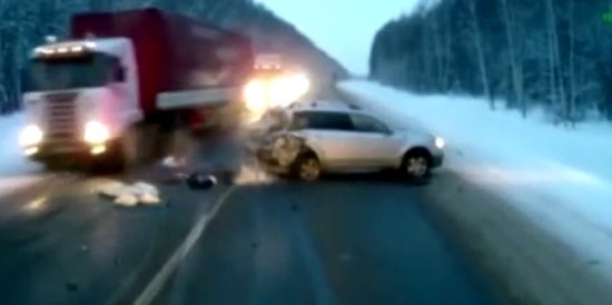 Amazing Truck Driver's Reaction That Saved a Baby on The Road