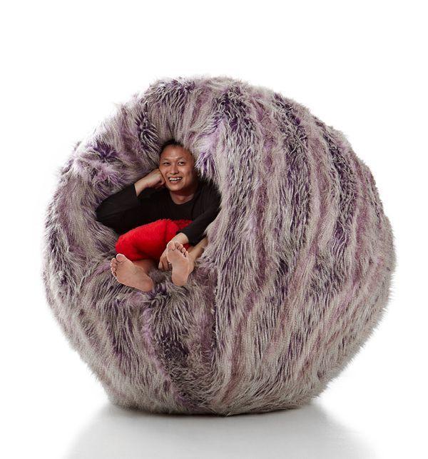 Fish Ball Chair (4 pics)