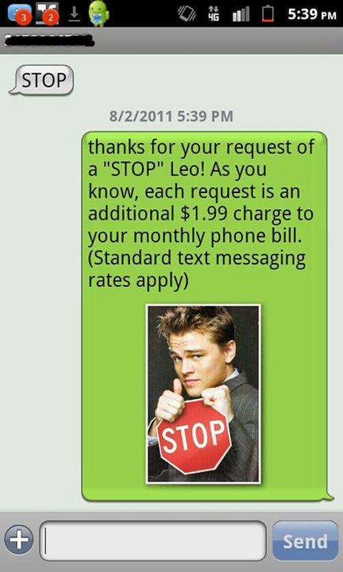 Very Funny DiCaprio Phone Prank (10 pics)
