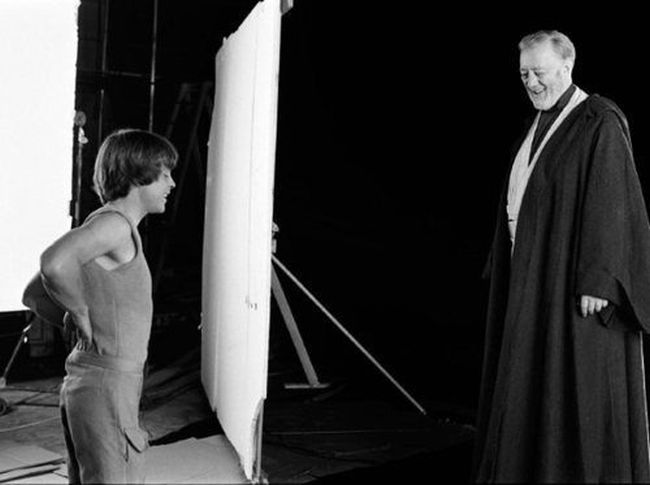 On the Set of Great Movies (40 pics)