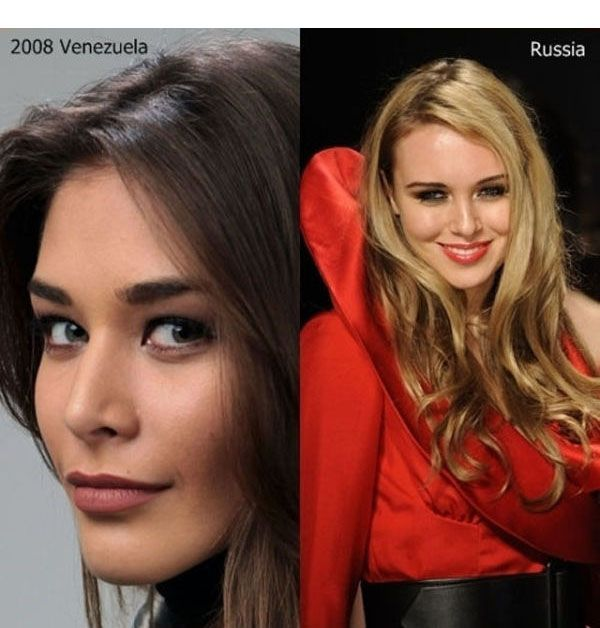 Miss Universe vs Miss World (10 pics)