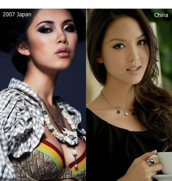 Miss Universe vs Miss World (10 pics)