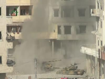 Weird Tank Explosion
