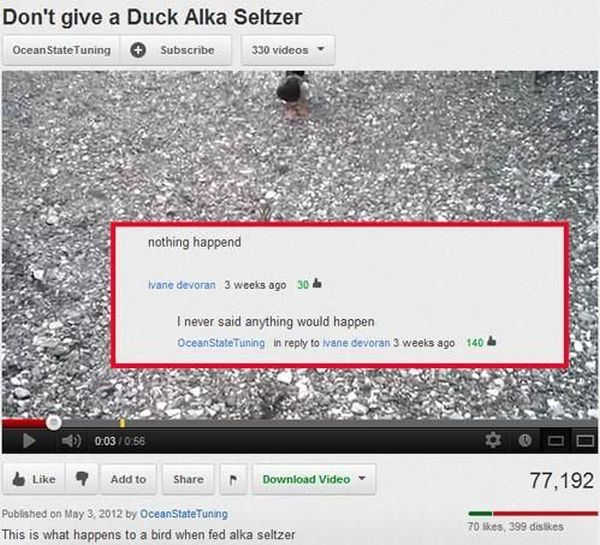 Funny Youtube Comments Part 9 (30 pics)