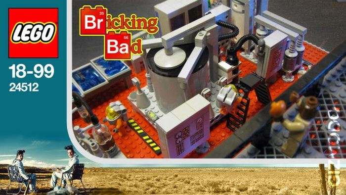 'Breaking Bad' in Lego (16 pics)