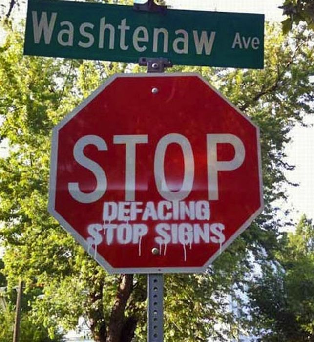 The Best Hacked Street Signs (24 pics)