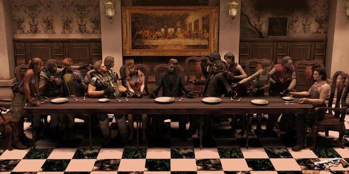 "Pop Culture Parodies Of ""The Last Supper"" (54 pics)"