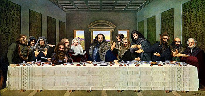 "Pop Culture Parodies Of ""The Last Supper"" (54 pics)"
