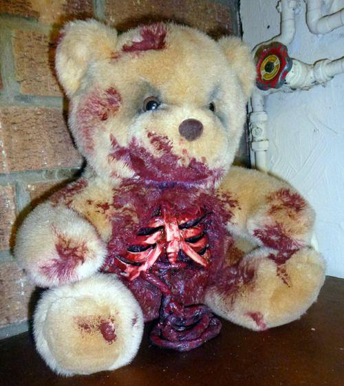 Zombie Teddy Bears (17 pics)