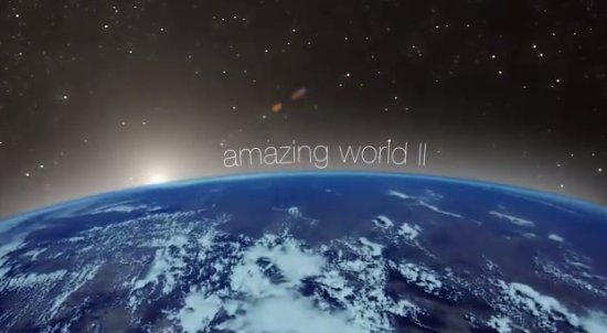 We Live in Amazing World