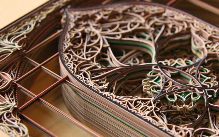 Laser Cut Paper Art (8 pics)