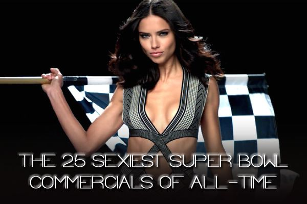 The 25 Sexiest Super Bowl Commercials of All-Time