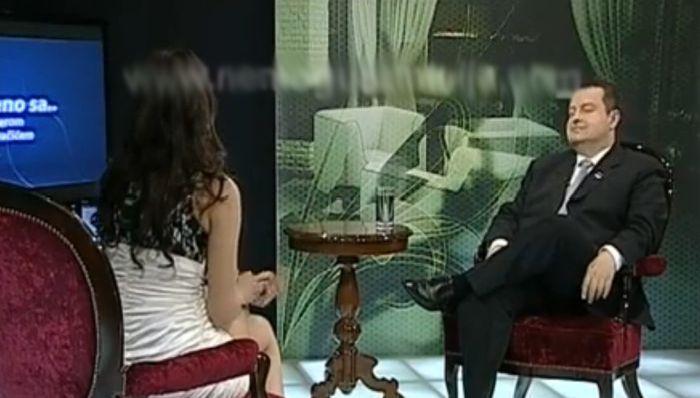 Basic Instinct Prank on Serbian Prime Minister (7 pics + video)