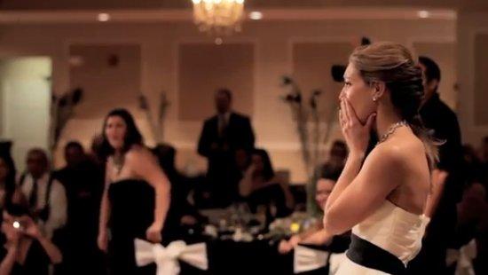 Heartwarming Bride's Dance in Loving Memory of Her Dad