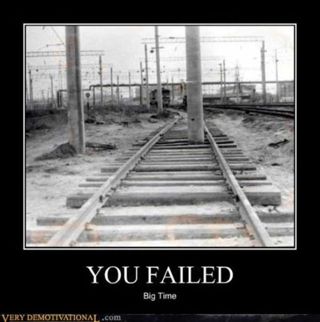 Funny Demotivational Posters, Feb. 5, 2013 (35 pics)
