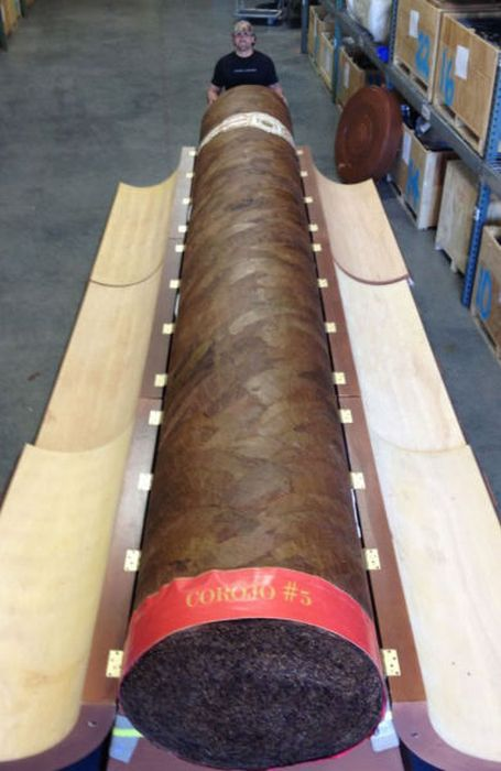 Collector Pays $185,000 for a Giant Cigar (7 pics)