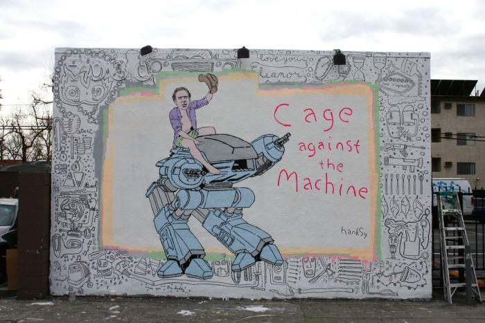 New Hanksy's Graffiti (6 pics)