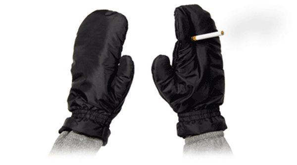 Smoking Mittens (7 pics)