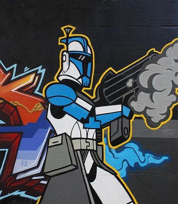 Star Wars Street Art (41 pics)