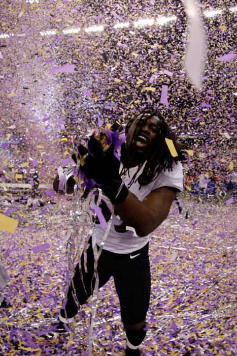 Photos Of The Baltimore Ravens Winning The Super Bowl (32 pics)