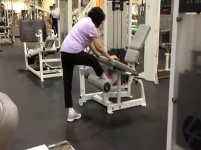 How Not to Use Fitness Chair