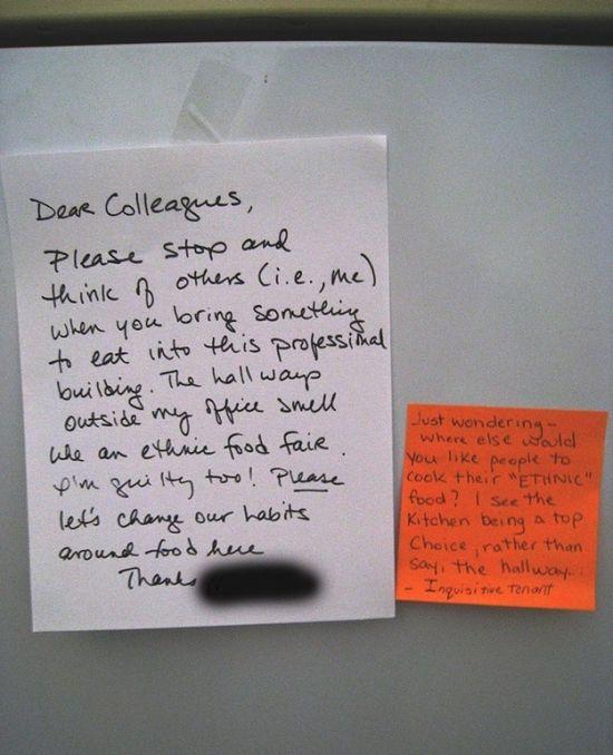 Funny Responses To Passive Aggressive Notes (26 pics)