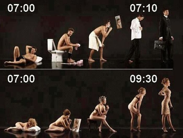 Men vs Women. Part 2 (19 Pics)