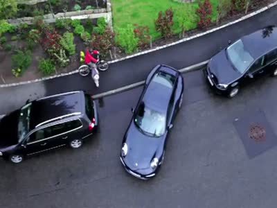 It's Not Easy to Park a Porsche 911