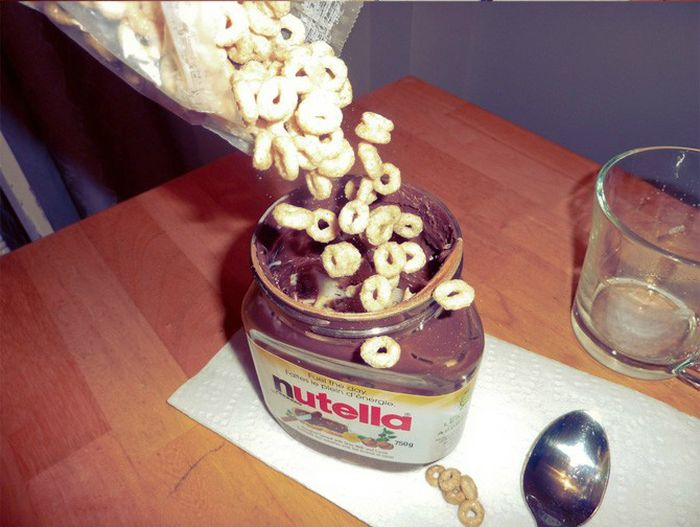 What to Do with an Almost Empty Nutella Jar (5 pics)