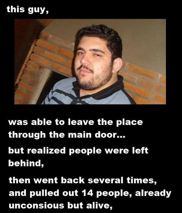 This Guy is a Real Hero (5 pics)