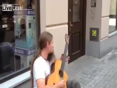 Amazing Guitar Skills Performance