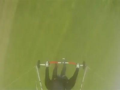 Parasailing Landing Fail