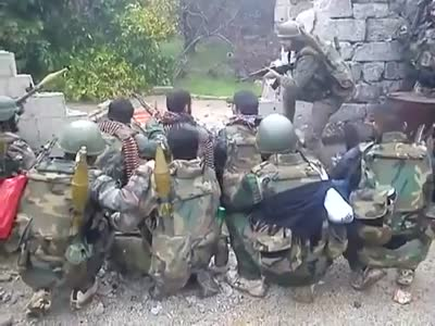 Syria Military Having Fun