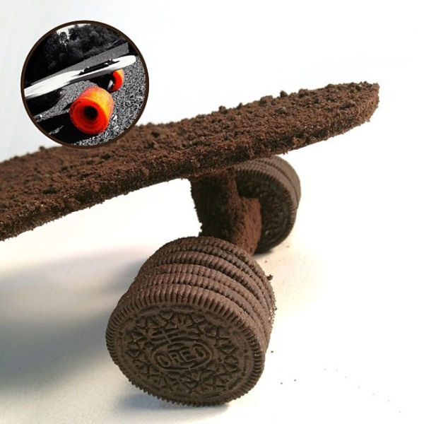 Amazing Artwork Made Out of Cookies and Cream (41 pics)