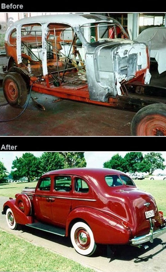 New Life of the Old Cars (11 pics)