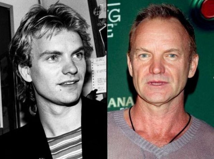 Rock Stars Then and Now (20 pics)