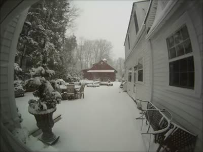 30 Inches of Snow in Half Minute