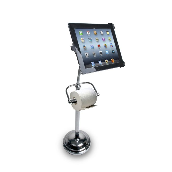 iPad Stand for Your Bathroom (5 pics)