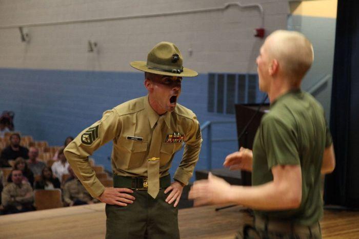 Marine Drill Instructors' Screaming Faces (24 pics)