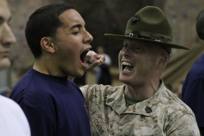 Marine Drill Instructors' Screaming Faces (24 pics)